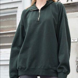 Brandy Melville Sweaters - Green Archer Sweatshirt